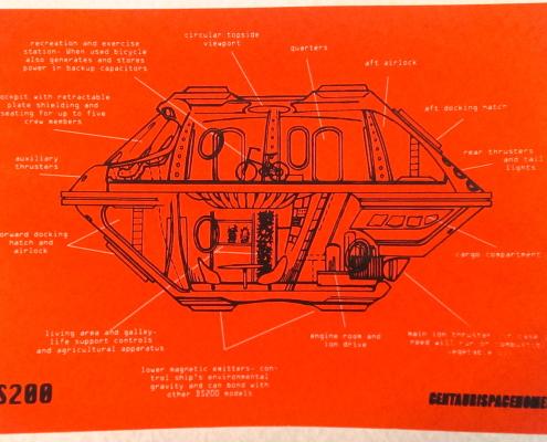 "Alexander Squier, ""Single Family Unit DS200"", 11""x17"", screen print"