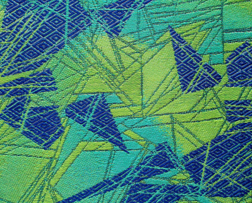 """Heather Macali, """"Tri Me 2"""". Summer 2014 Artist in Residence"""