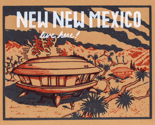 """Alexander Squier, """"New New Mexico: Live Here!"""""""