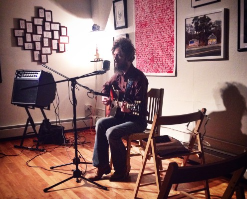 Ian Fitzgerald, guitar and voice