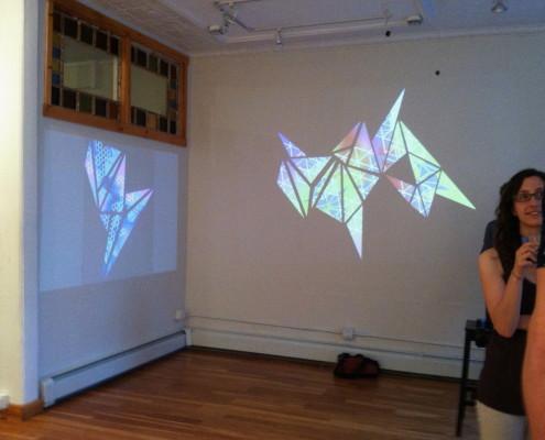 "Summer 2014 Residency, Heather Macali, ""Jaquard Geometry"""