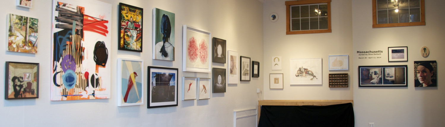Massachusetts Juried Exhibition 2014, installation shot
