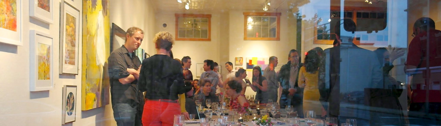 2014 Foraged Banquet in support of Gallery 263
