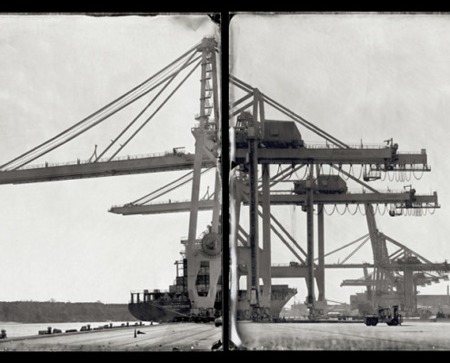 Kolster_TakeMetotheRiver_Gallery263_ShippingCranes