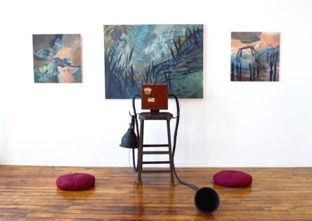 Listen to the Whales_William Chambers + Ann Barrett_installation_Gallery263_2017